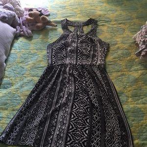 An pretty flowy dress.